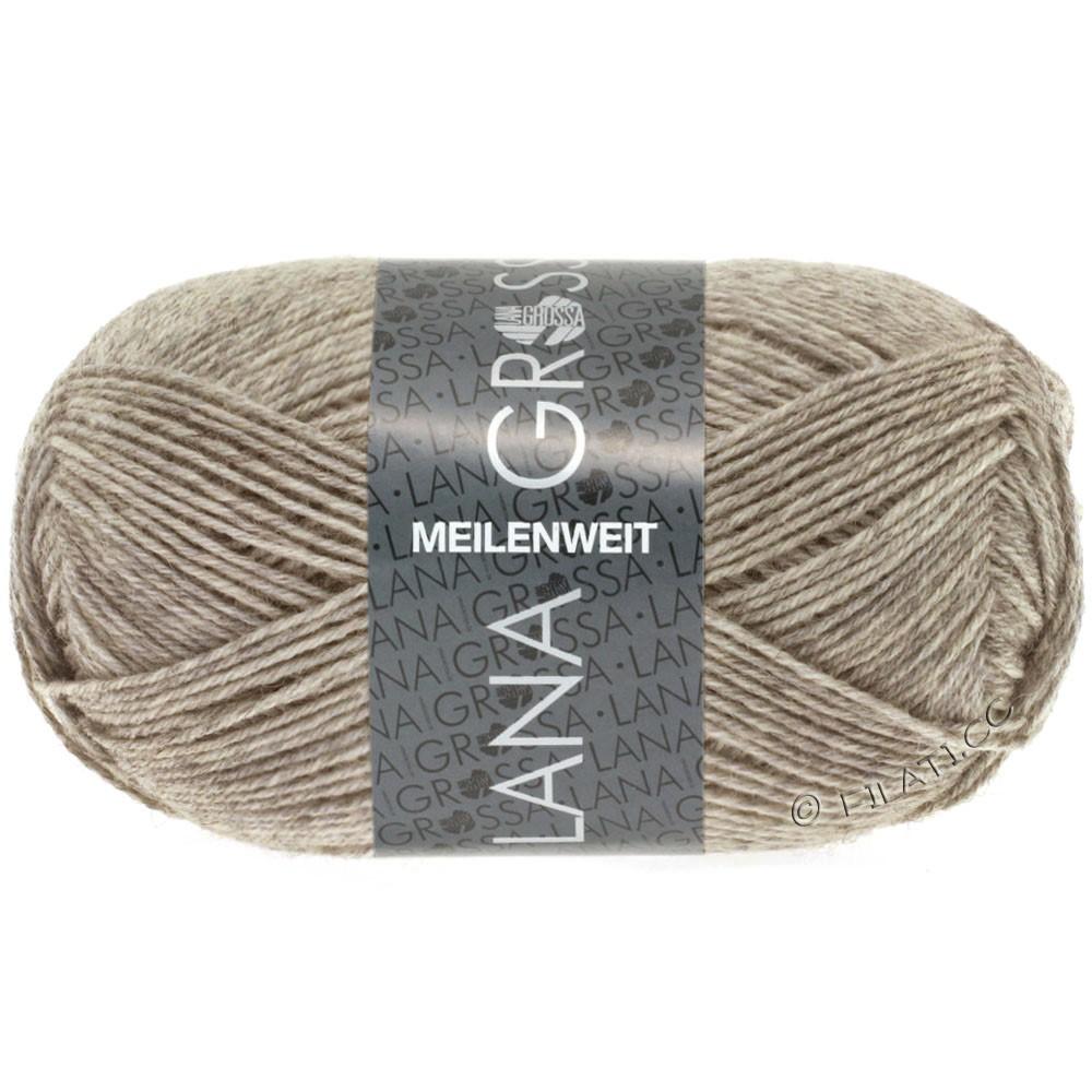 Lana Grossa MEILENWEIT 50g Uni | 1359-серо-коричневый