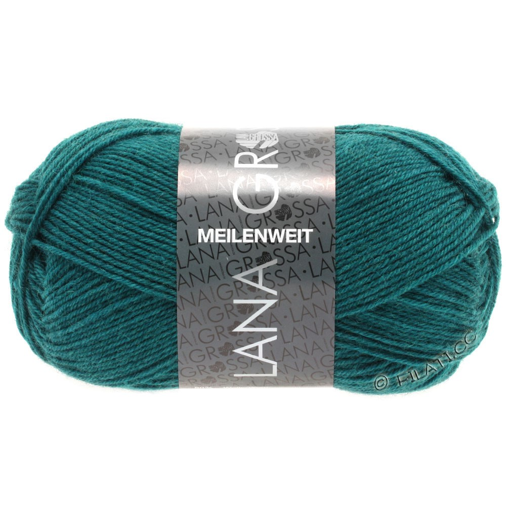 Lana Grossa MEILENWEIT 50g Uni | 1365-тёмно-зеленый
