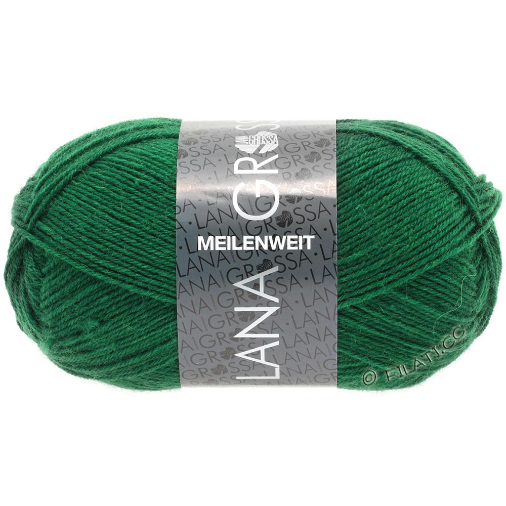 Lana Grossa MEILENWEIT 50g Uni | 1367-бутылочный цвет