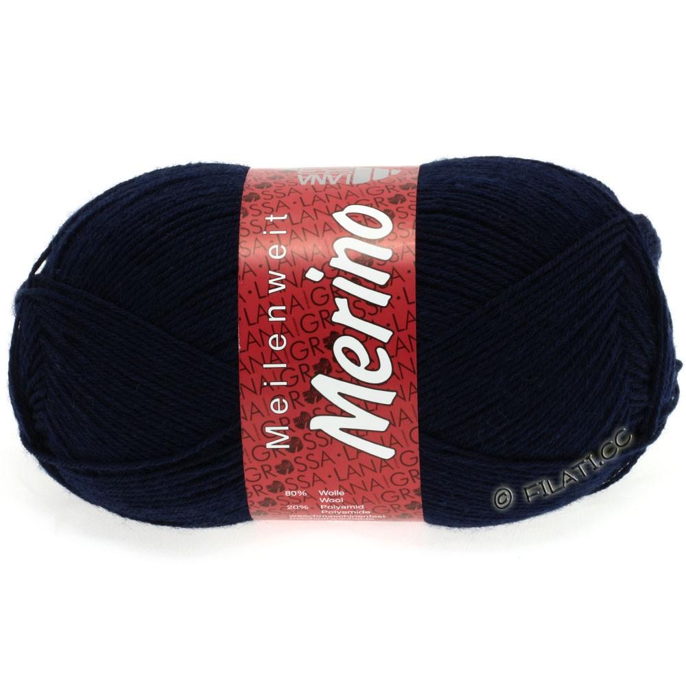 Lana Grossa MEILENWEIT 100g Merino Uni | 2011-тёмно-синий
