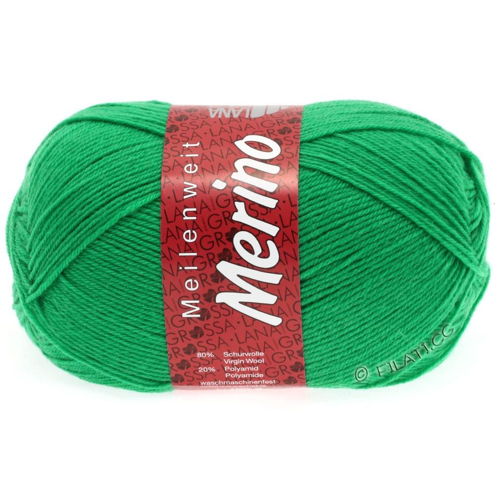 Lana Grossa MEILENWEIT 100g Merino Uni | 2031-зеленый изумруд