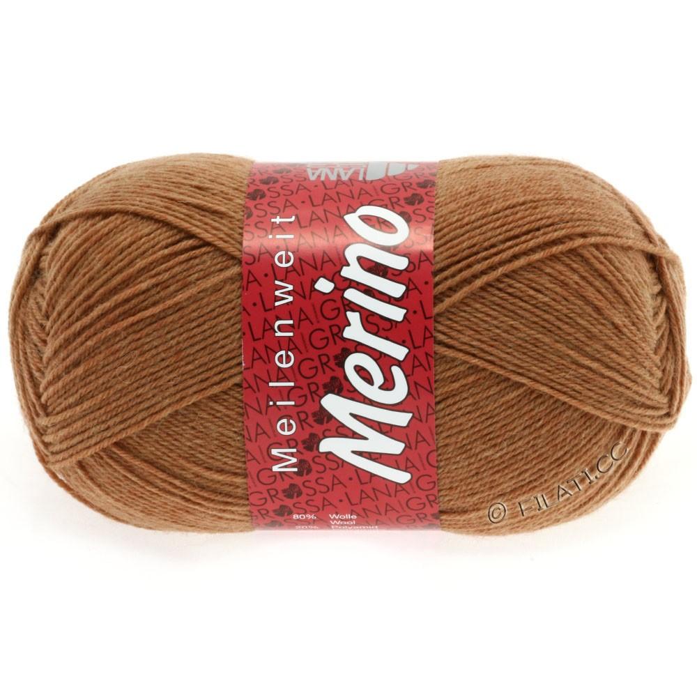 Lana Grossa MEILENWEIT 100g Merino Uni | 2032-коричневый