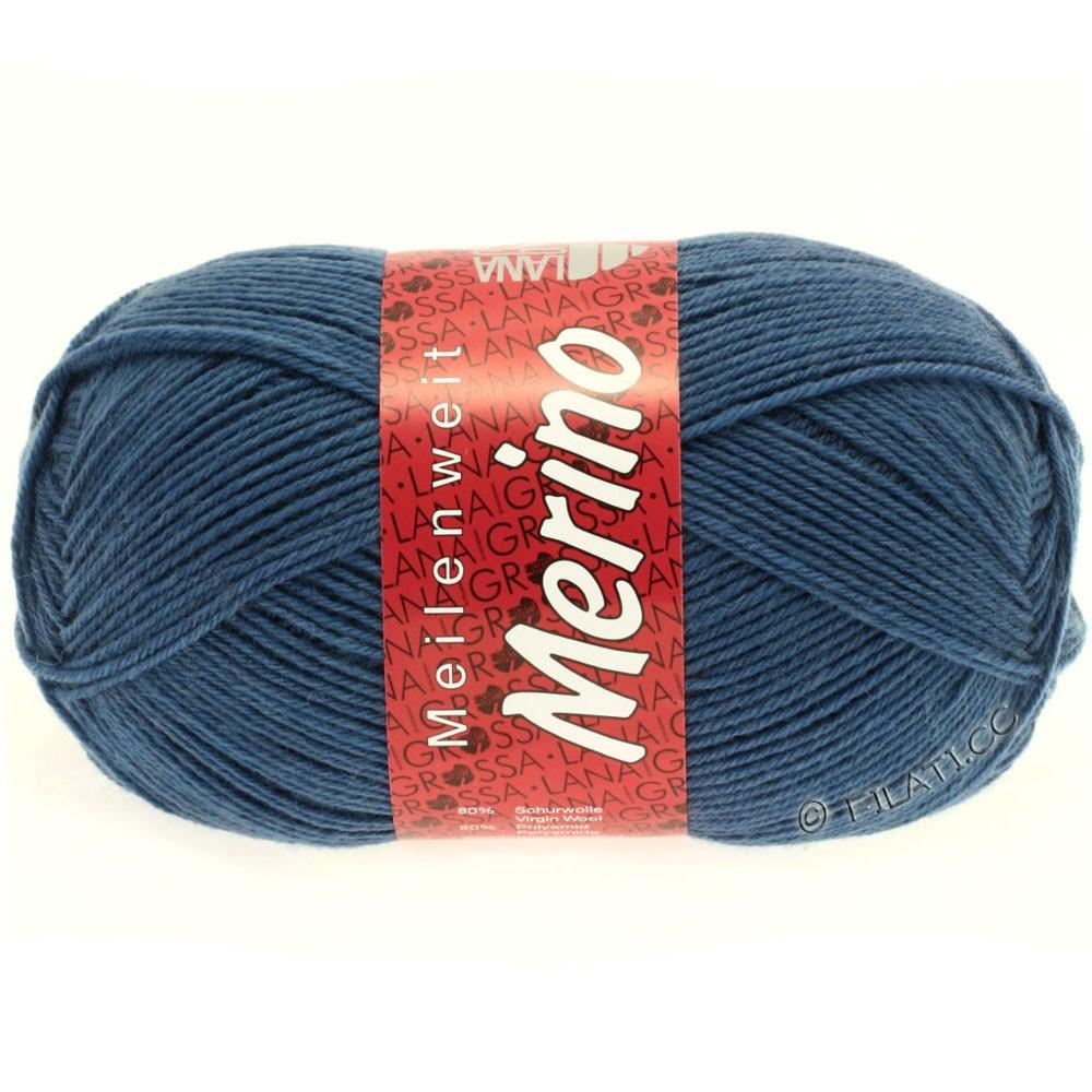 Lana Grossa MEILENWEIT 100g Merino Uni | 2033-синий василек