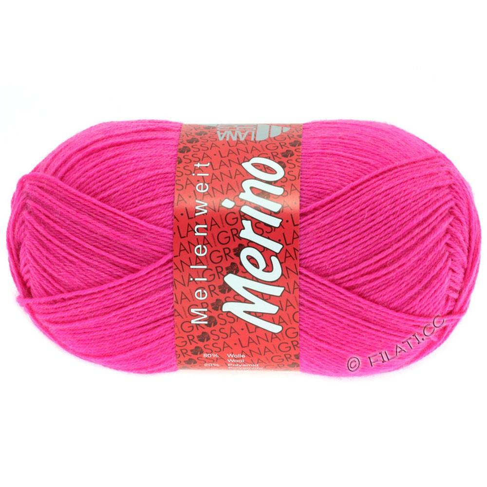 Lana Grossa MEILENWEIT 100g Merino Uni | 2035-розовый