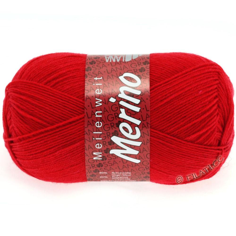 Lana Grossa MEILENWEIT 100g Merino Uni | 2037-красный