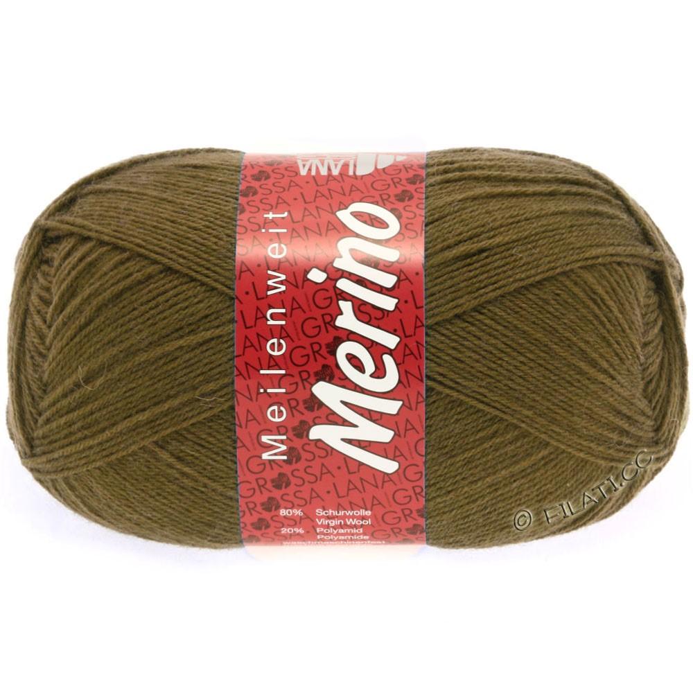 Lana Grossa MEILENWEIT 100g Merino Uni | 2039-светло-коричневый