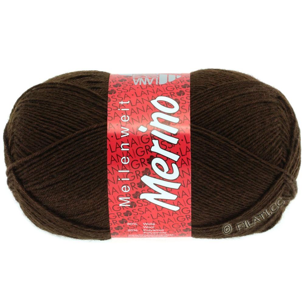 Lana Grossa MEILENWEIT 100g Merino Uni | 2040-коричневый