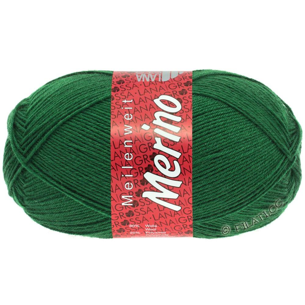 Lana Grossa MEILENWEIT 100g Merino Uni | 2045-бутылочный цвет