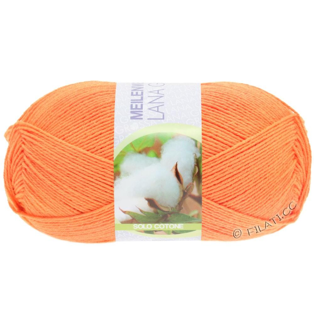 Lana Grossa MEILENWEIT 100g Solo Cotone Unito | 3463-оранжевый
