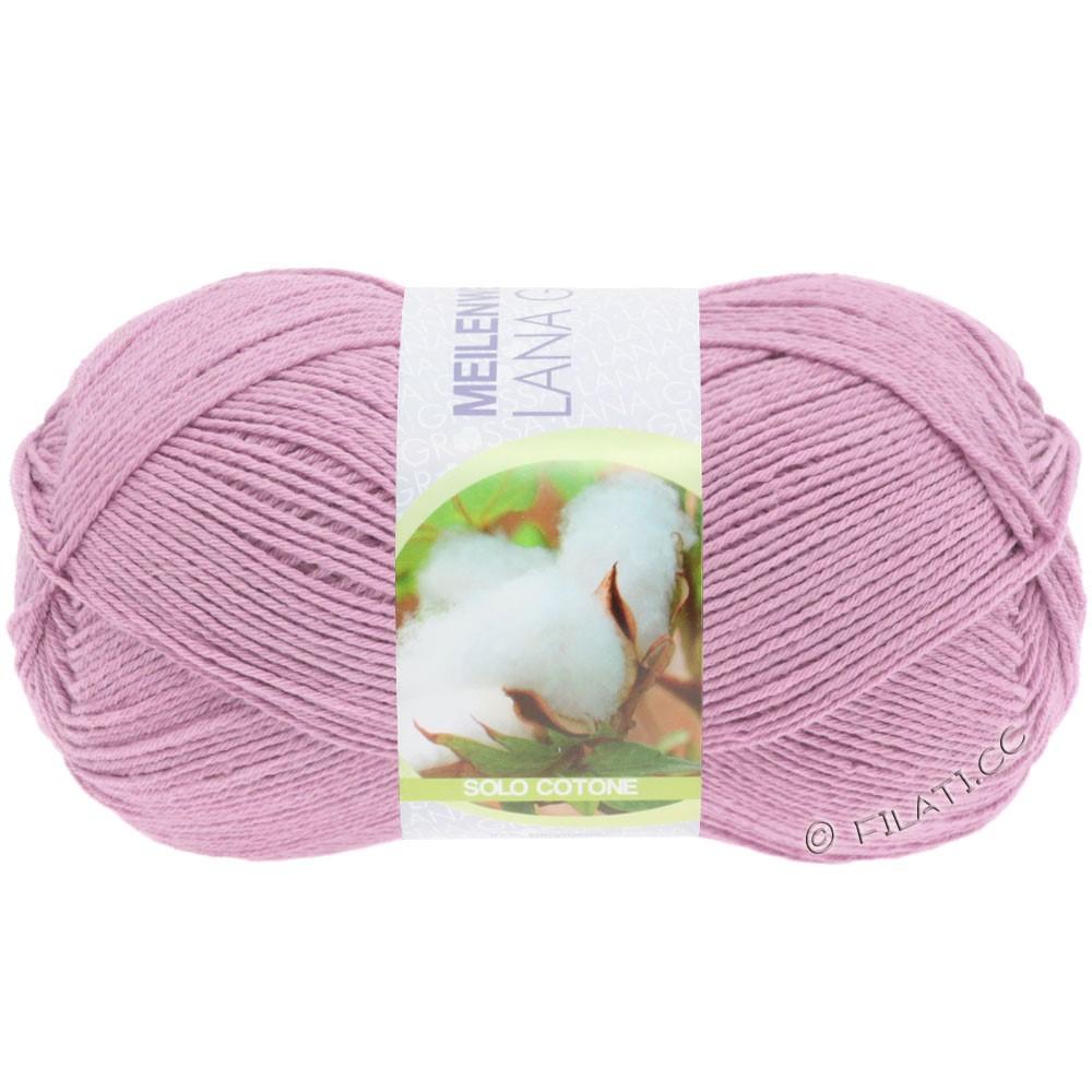 Lana Grossa MEILENWEIT 100g Solo Cotone Unito | 3464-розовый