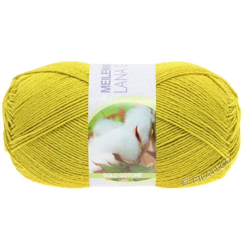 Lana Grossa MEILENWEIT 100g Solo Cotone Unito | 3465-жёлтый