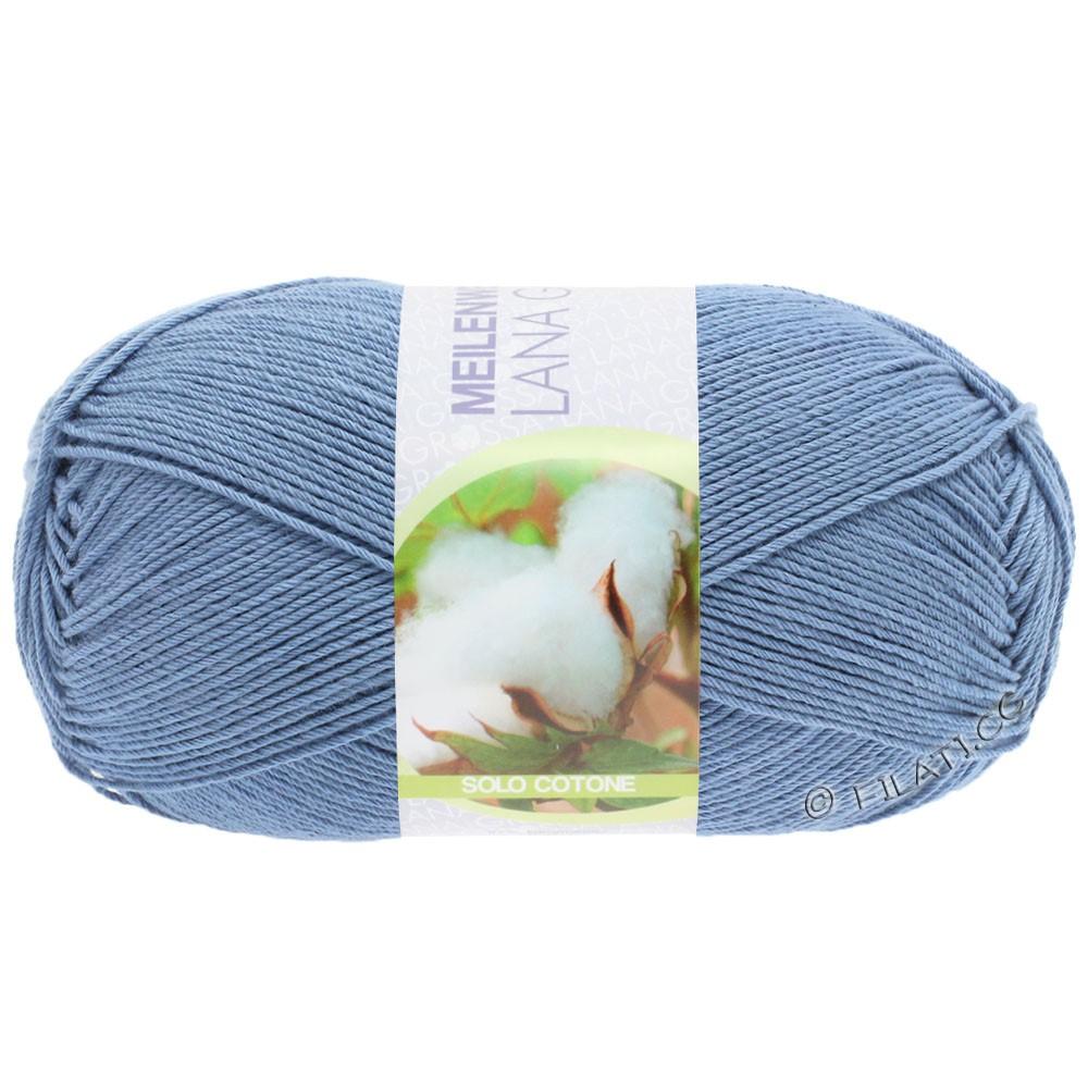 Lana Grossa MEILENWEIT 100g Solo Cotone Unito | 3470-светло синий