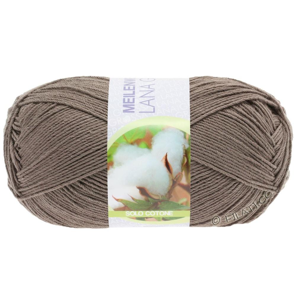 Lana Grossa MEILENWEIT 100g Solo Cotone Unito | 3471-светло-коричневый