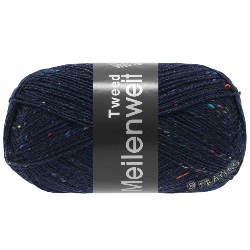 Lana Grossa MEILENWEIT 100g Tweed | 112-синий