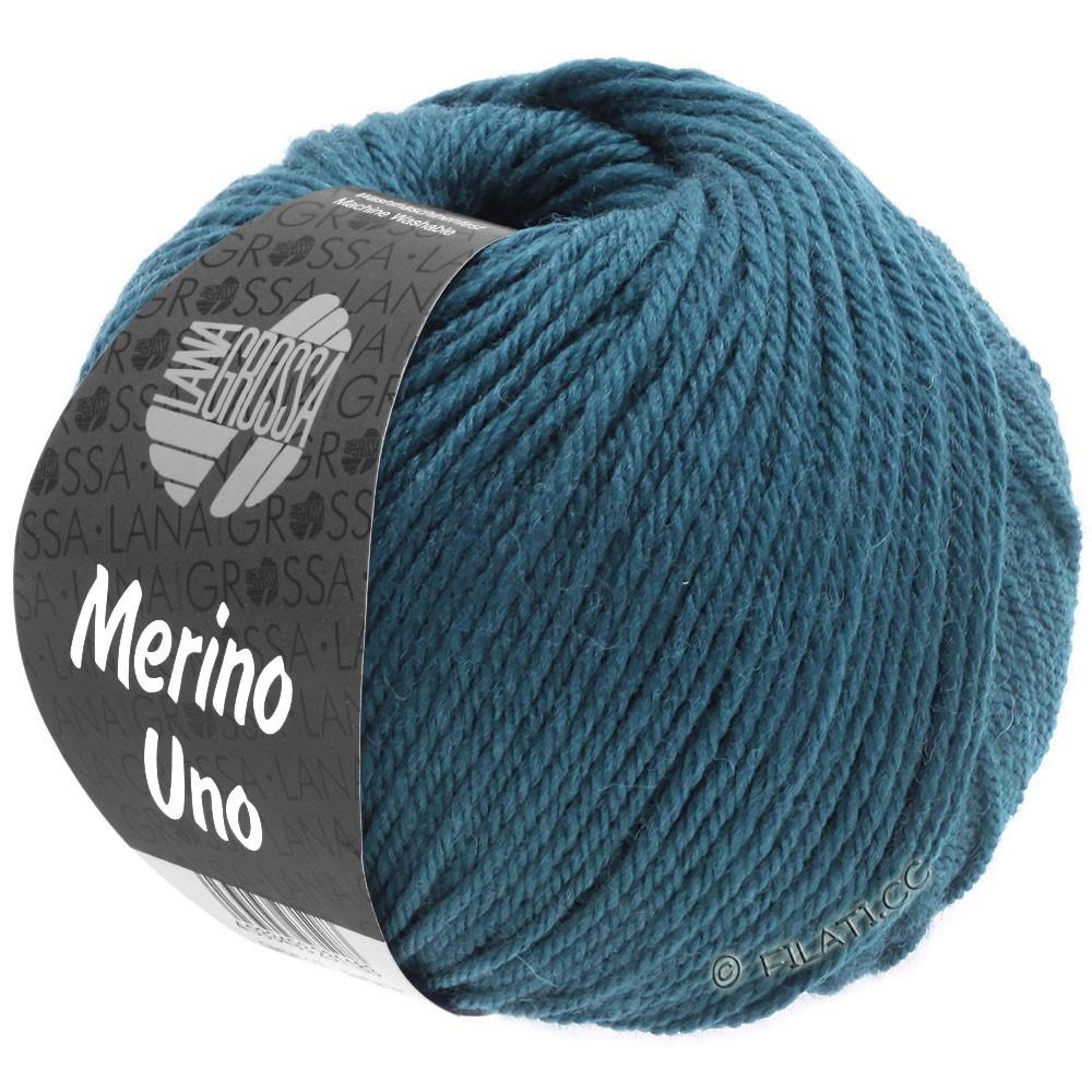 Lana Grossa MERINO UNO | 06-тёмно сине-зеленый