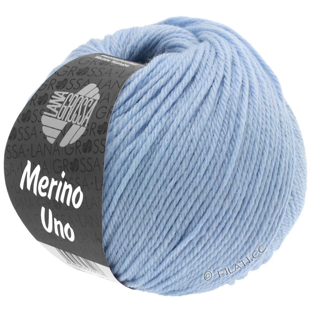 Lana Grossa MERINO UNO | 08-светло-голубой