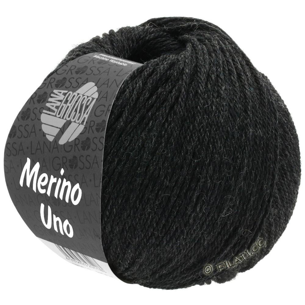 Lana Grossa MERINO UNO | 12-антрацитовый