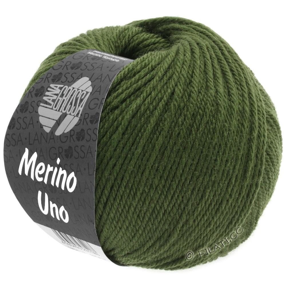 Lana Grossa MERINO UNO | 20-темно-зеленый