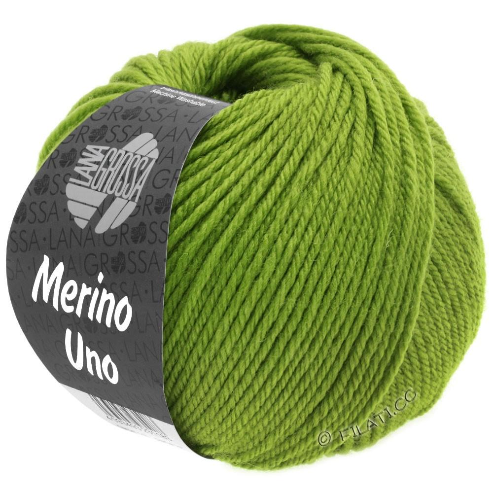 Lana Grossa MERINO UNO | 21-зелёное яблоко