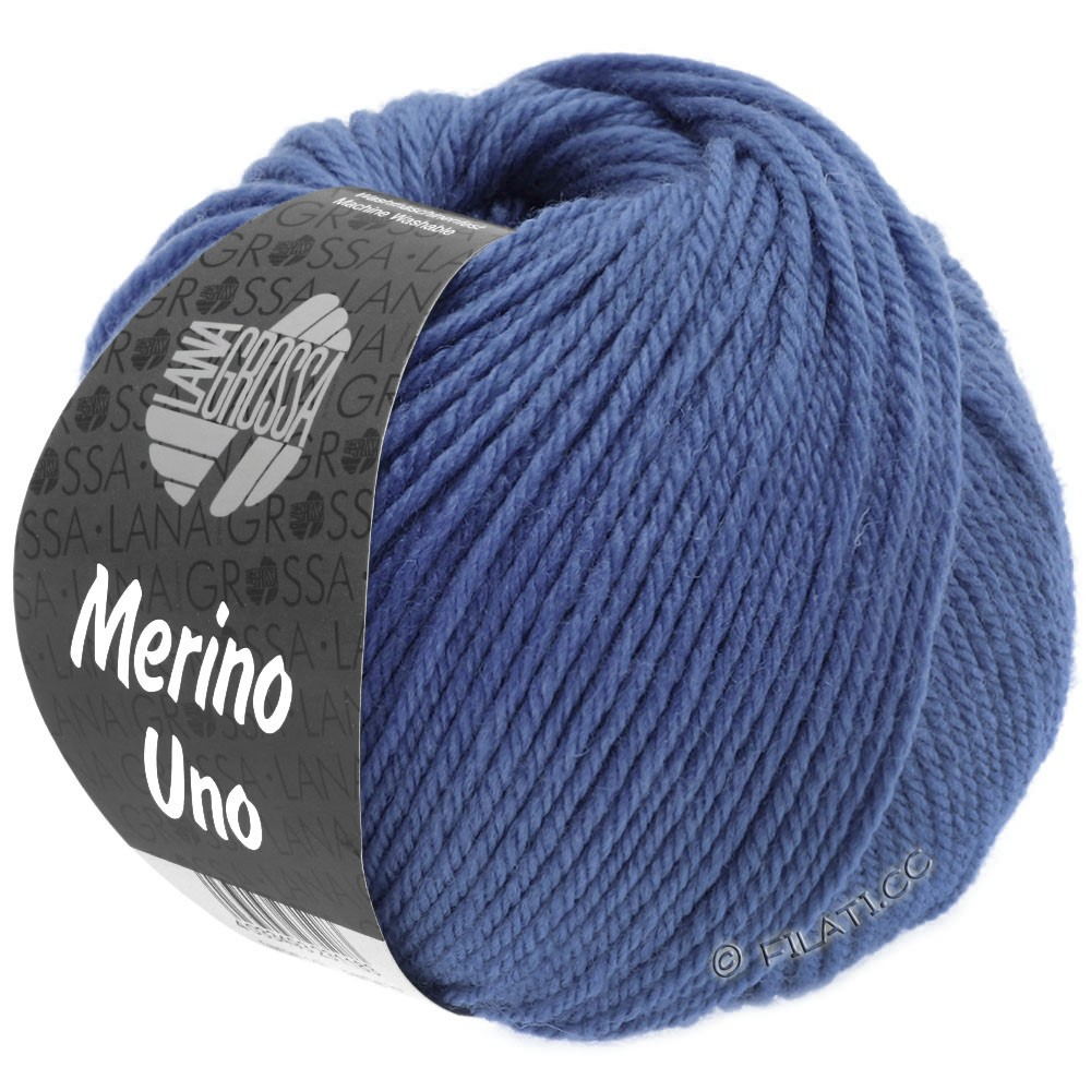 Lana Grossa MERINO UNO | 23-лилово-голубой