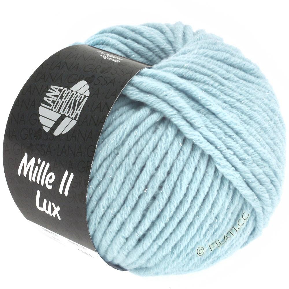 Lana Grossa MILLE II Lux | 711-светло-голубой