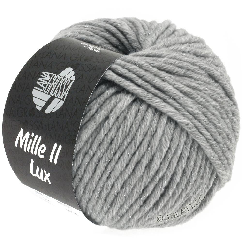 Lana Grossa MILLE II Lux | 713-светло-серый