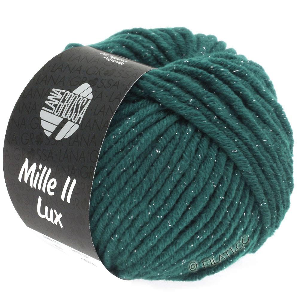 Lana Grossa MILLE II Lux | 714-тёмно-петроль