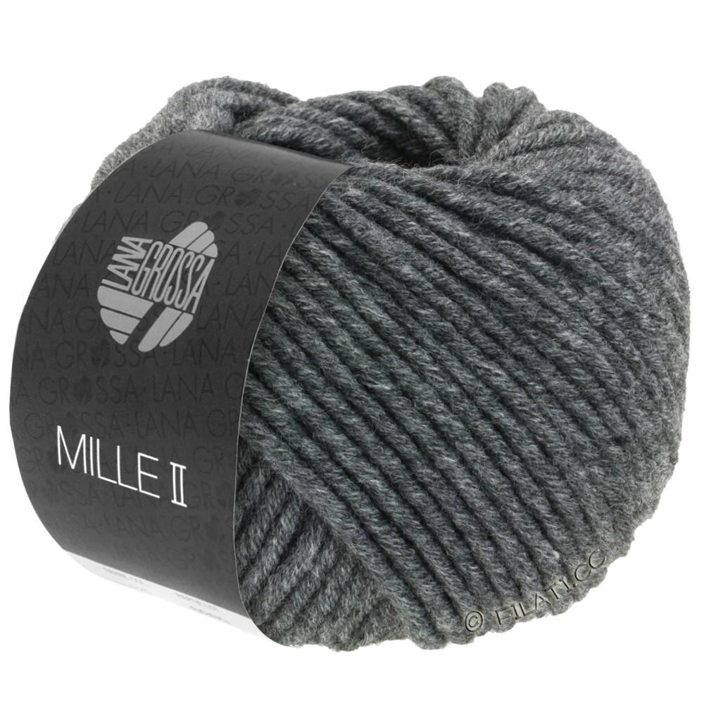 Lana Grossa MILLE II  Uni | 016-тёмно-серый меланжевый