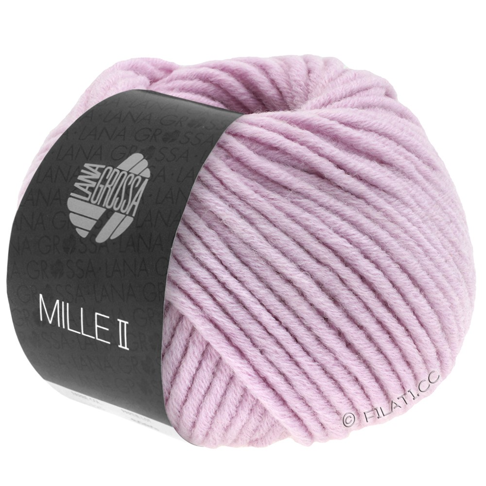 Lana Grossa MILLE II  Uni | 059-мягко-фиолетовый