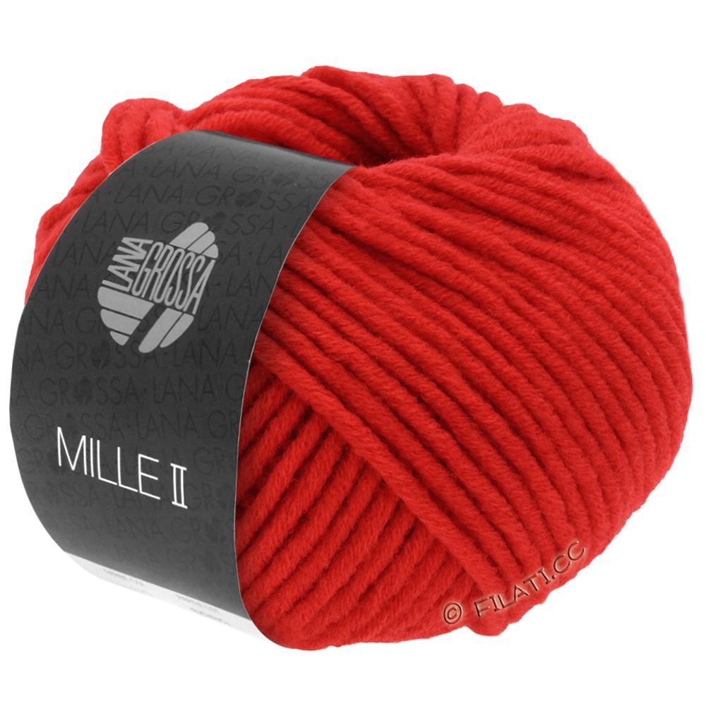 Lana Grossa MILLE II  Uni | 074-светящийся красный