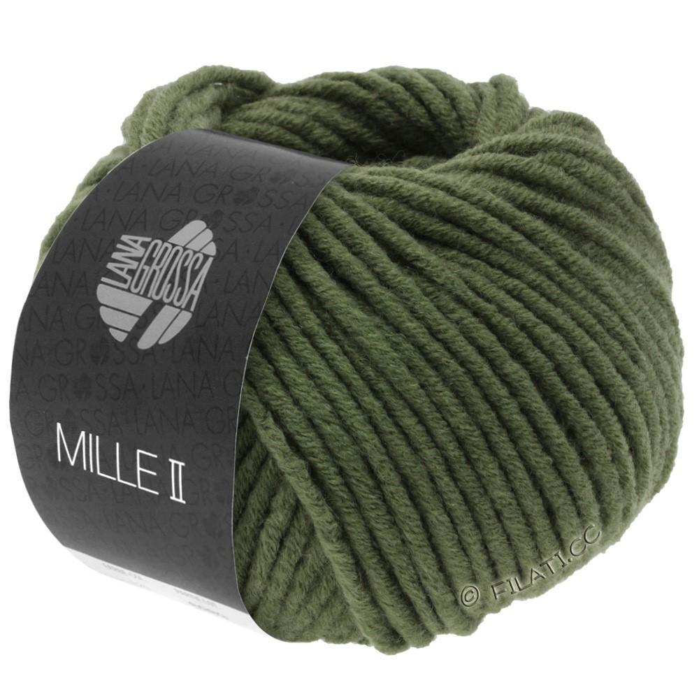 Lana Grossa MILLE II  Uni | 080-темно-зеленый