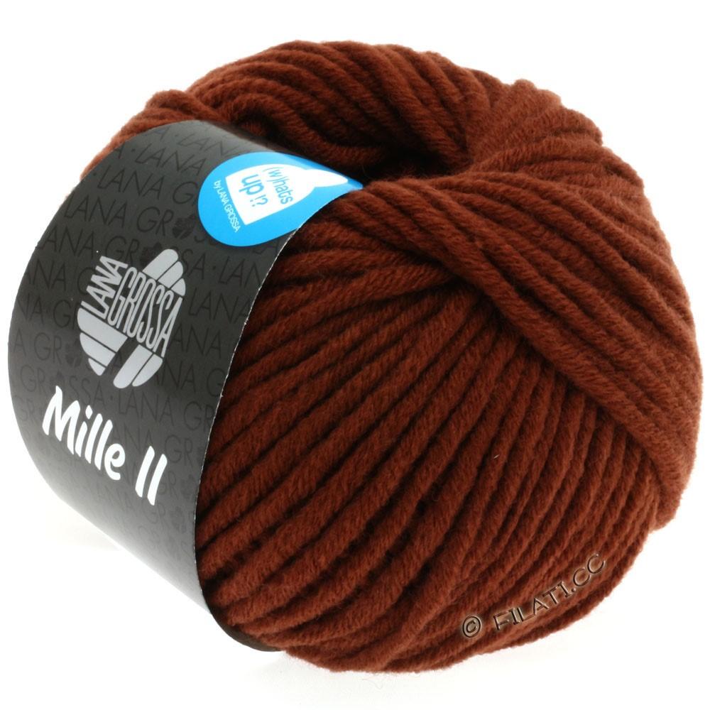 Lana Grossa MILLE II  Uni | 081-красно-коричневый