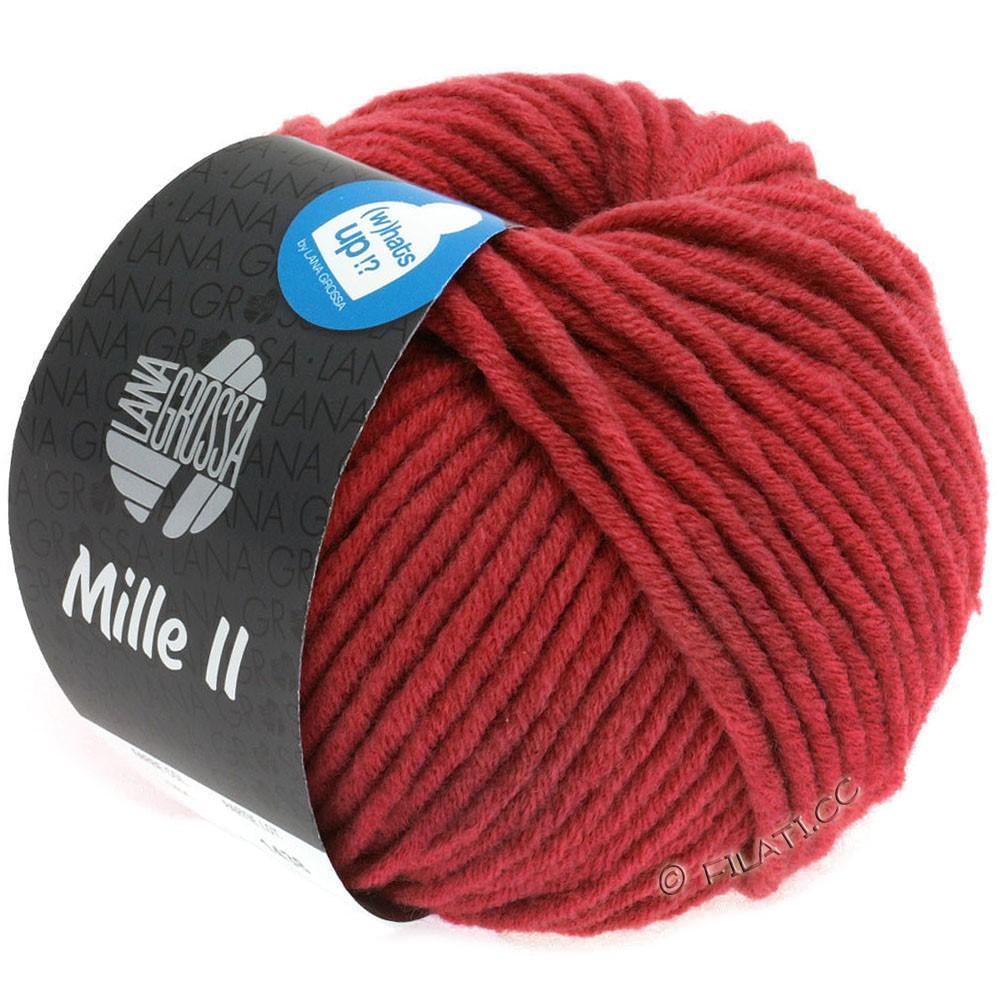 Lana Grossa MILLE II  Uni | 092-карминно-красный