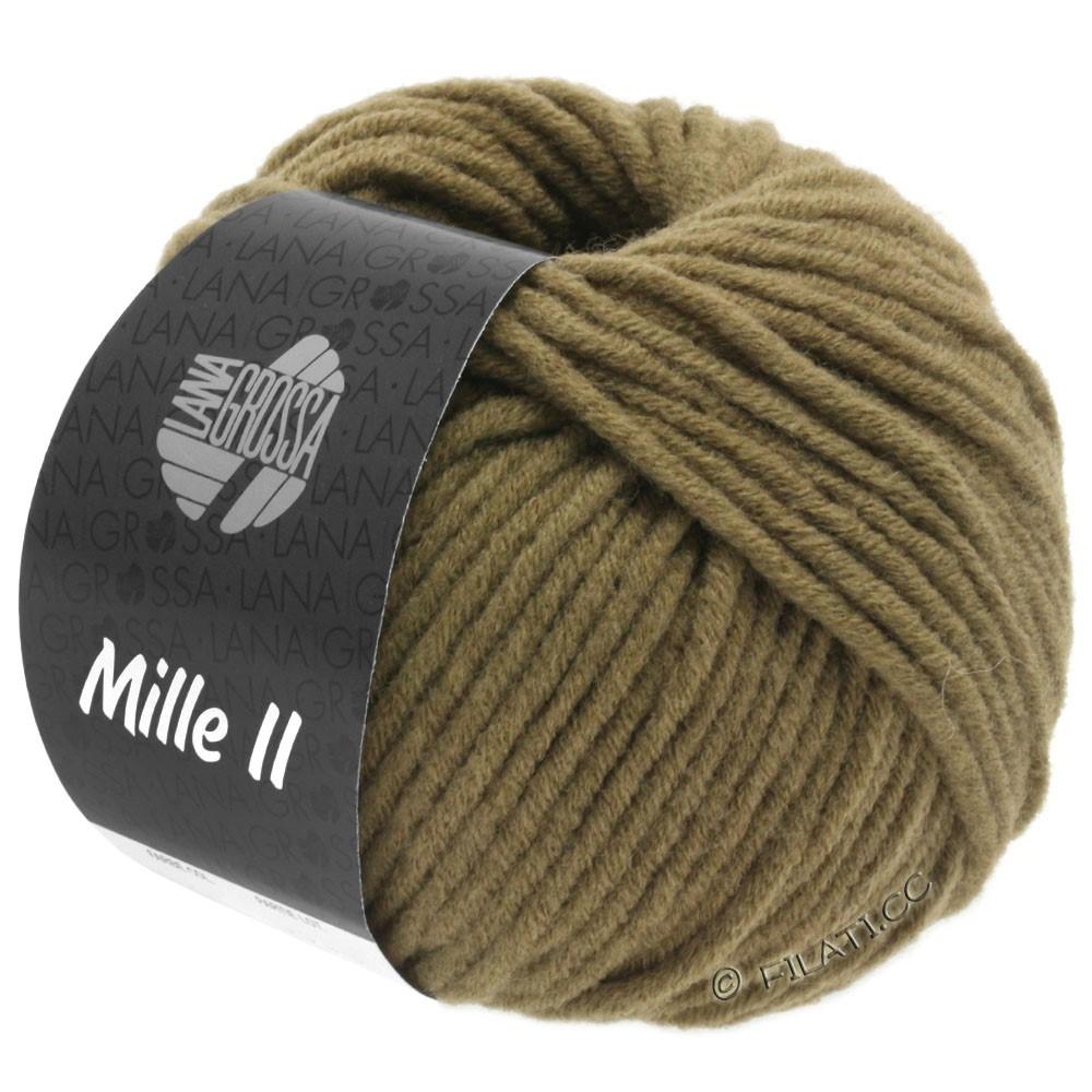 Lana Grossa MILLE II  Uni | 095-хаки