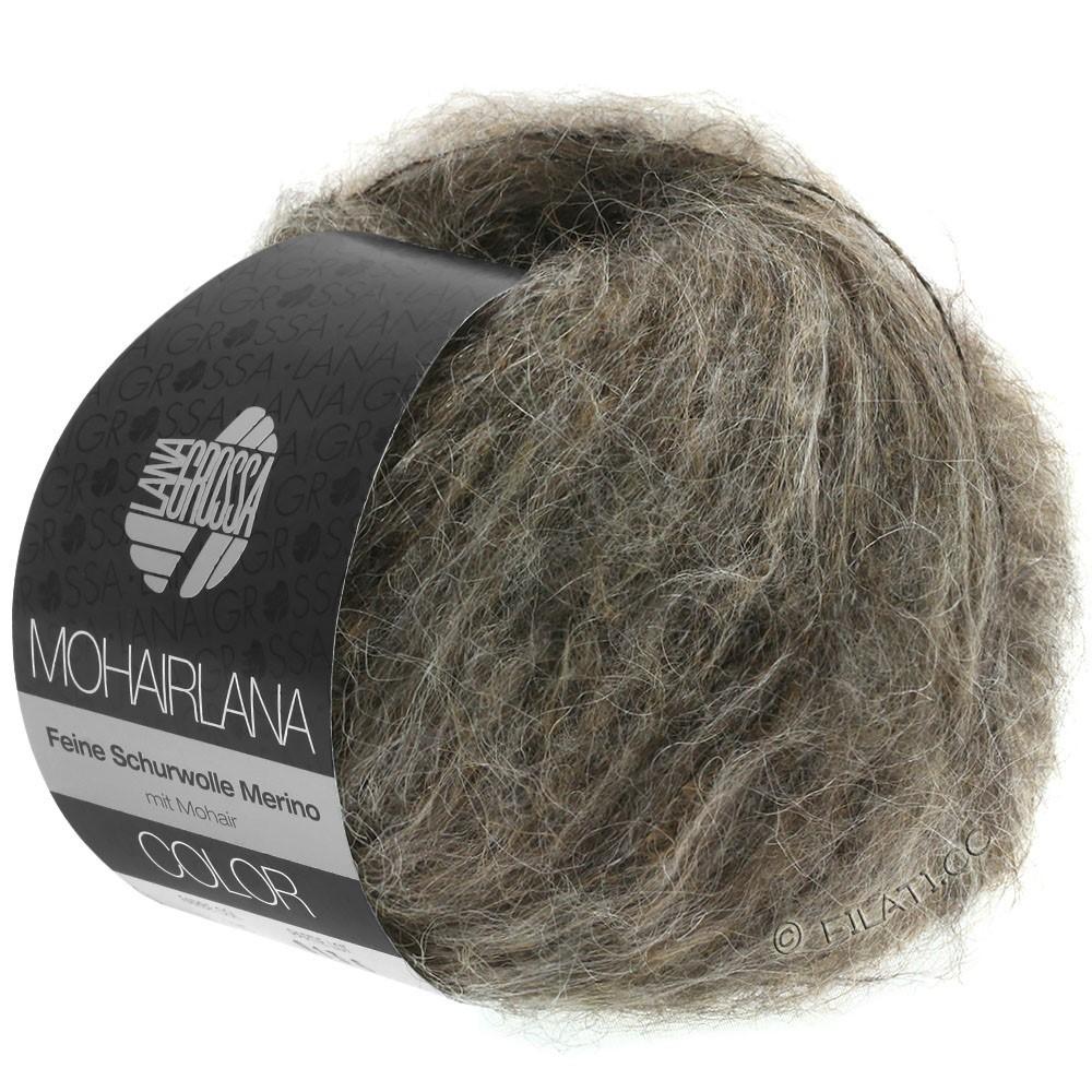 Lana Grossa MOHAIRLANA COLOR | 104-серо-коричневый/грязь