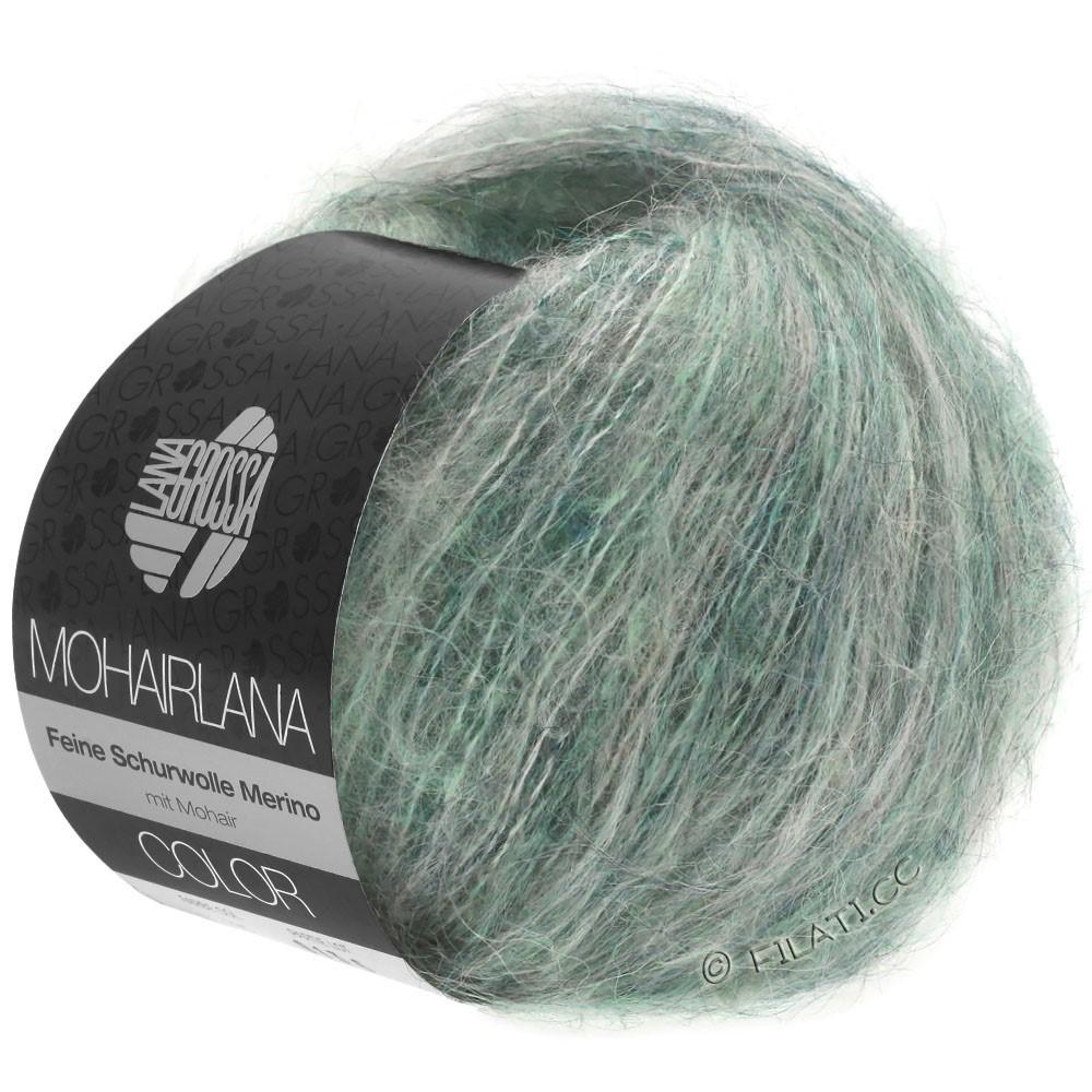 Lana Grossa MOHAIRLANA COLOR   106-серо-зеленый/петроль