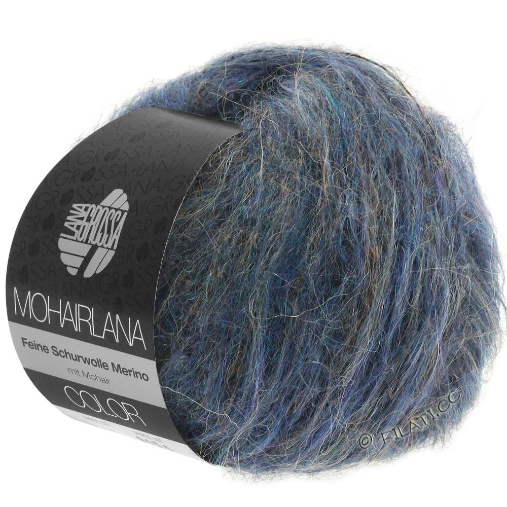 Lana Grossa MOHAIRLANA COLOR   108-темно джинсовый/сине-фиолетовый
