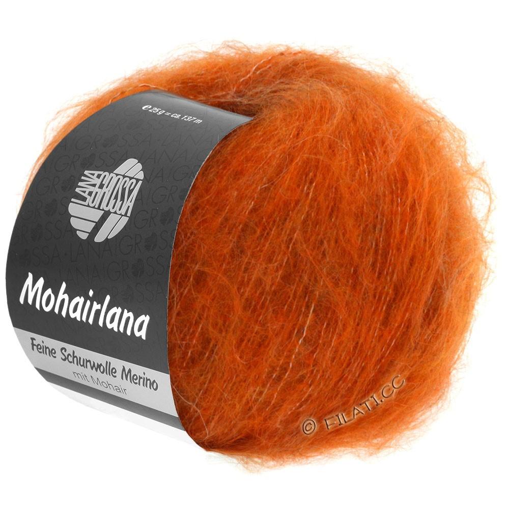 Lana Grossa MOHAIRLANA | 11-оранжевый