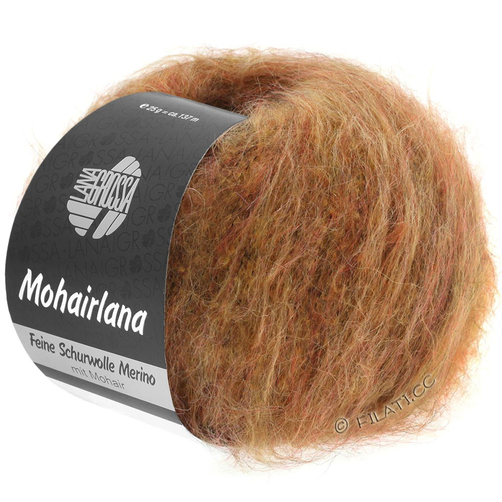 Lana Grossa MOHAIRLANA | 20-оранжево-коричневый