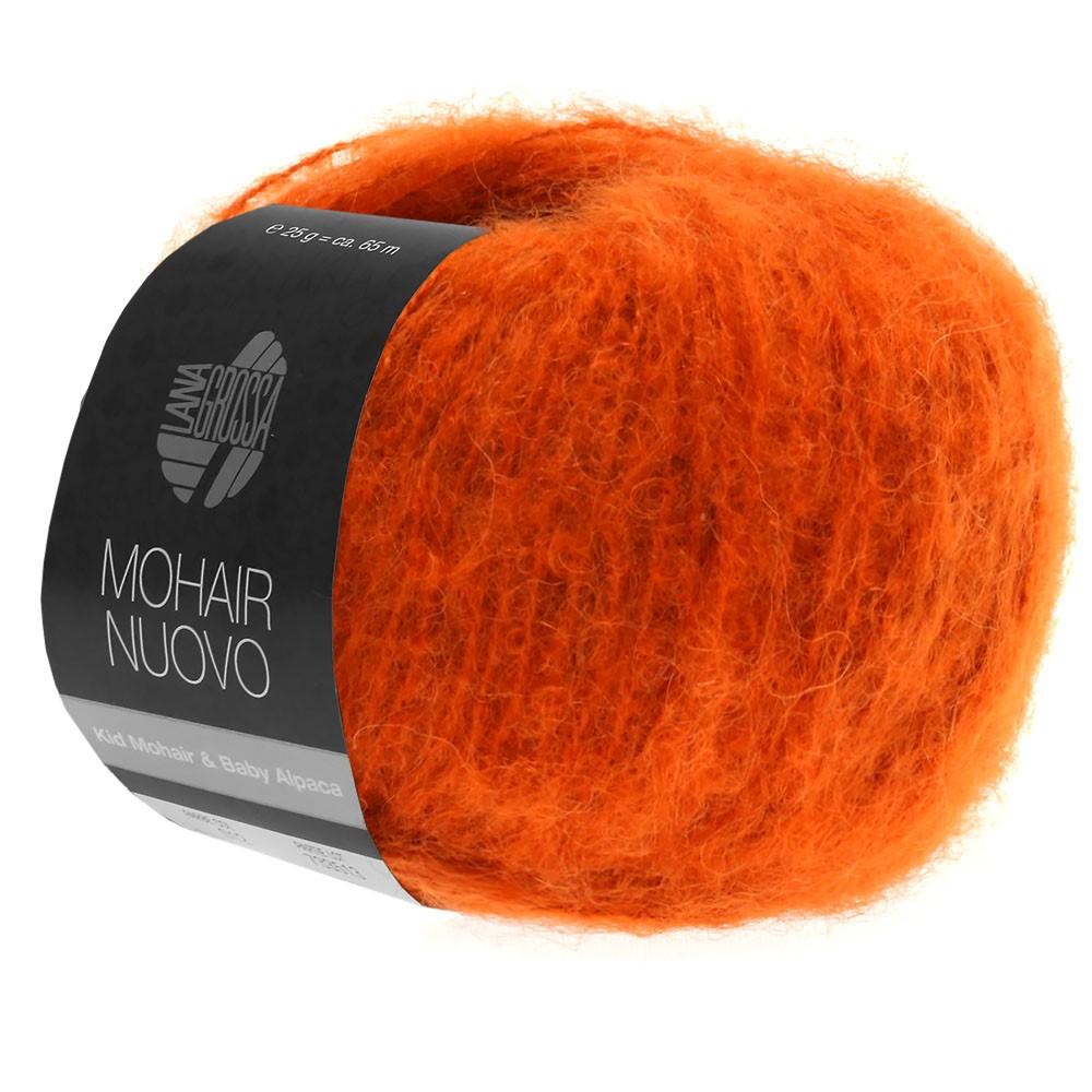 Lana Grossa MOHAIRNUOVO | 11-темно оранжевая