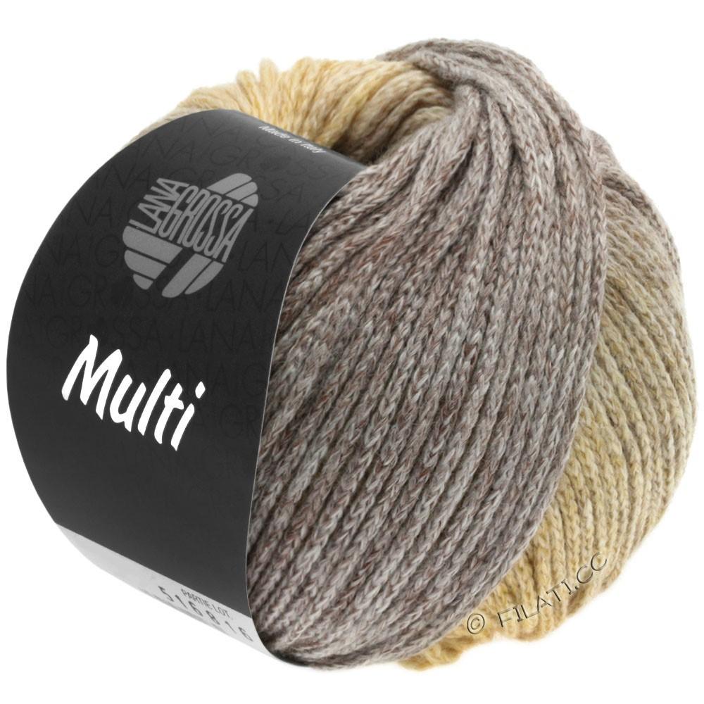 Lana Grossa MULTI | 05-песок/светло-коричневый/серый/бежевый