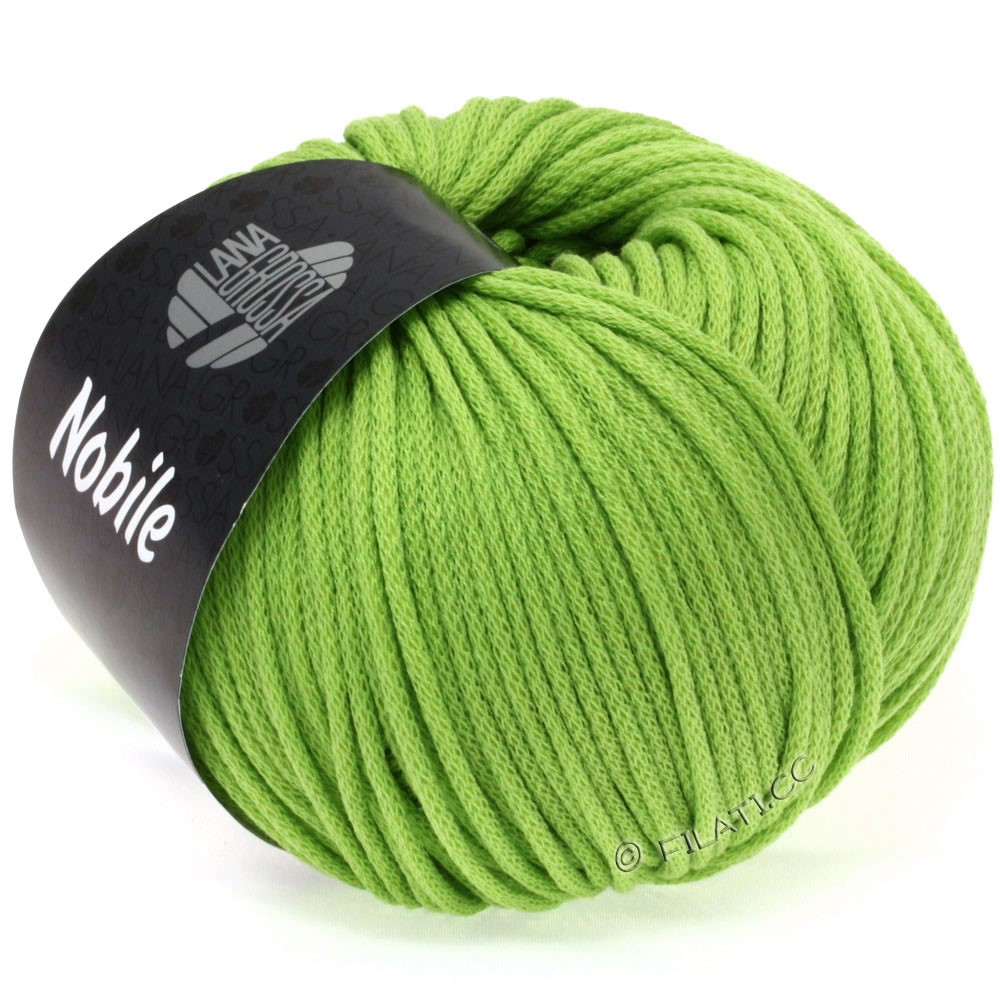 Lana Grossa NOBILE | 14-светло-зелёный
