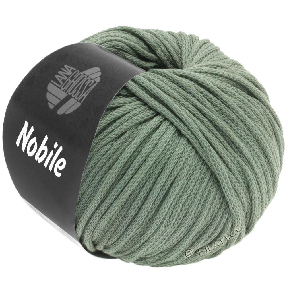 Lana Grossa NOBILE | 23-серо-зеленый