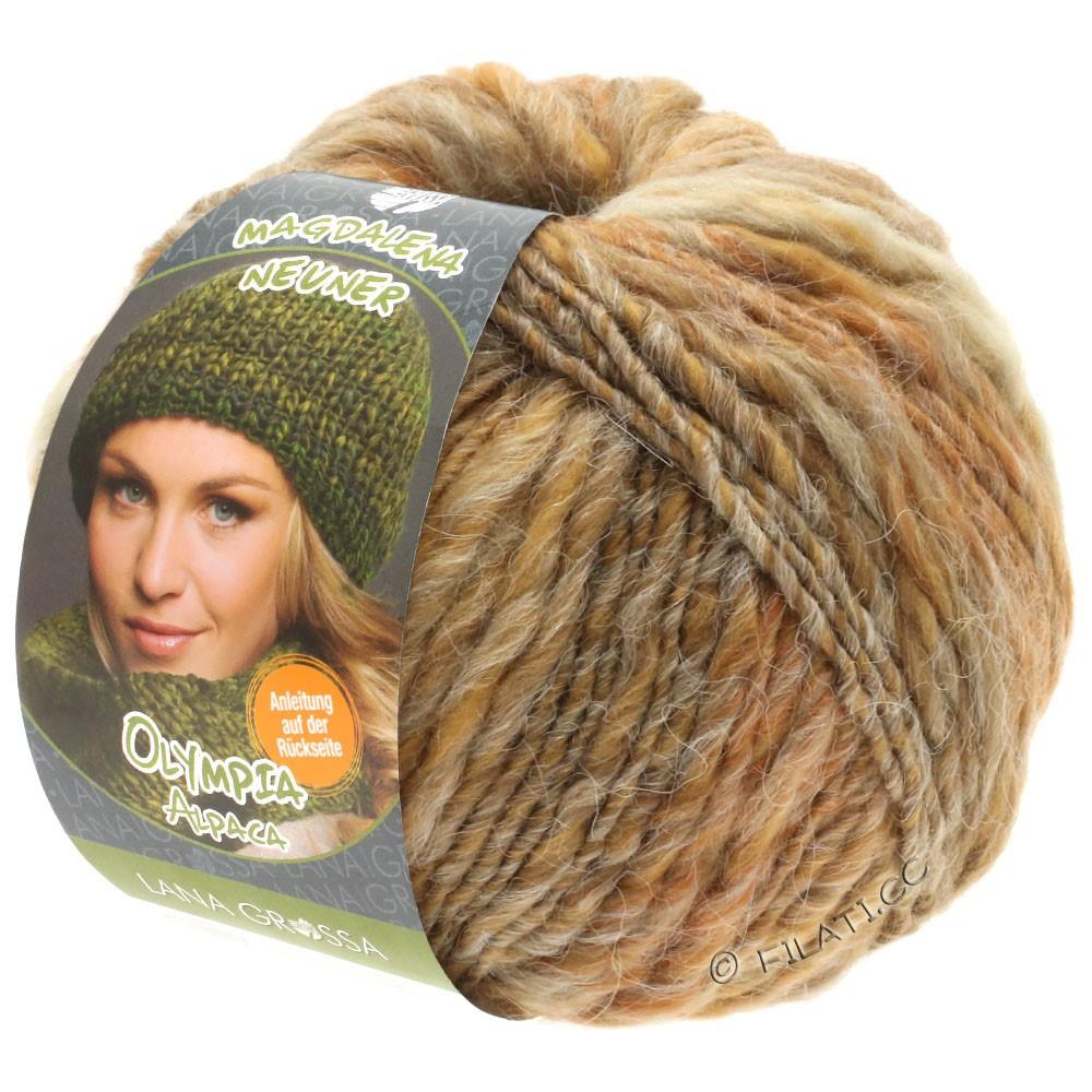 Lana Grossa OLYMPIA Alpaca | 906-бежевый/песок/серо-коричневый смешанный