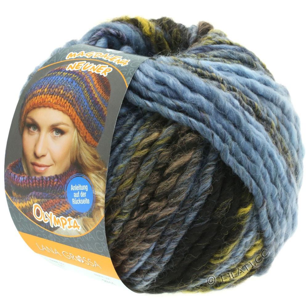 Lana Grossa OLYMPIA Classic | 061-светло-голубой/серо-голубой/оливковый/тёмно-серый/антрацитовый/чёрный