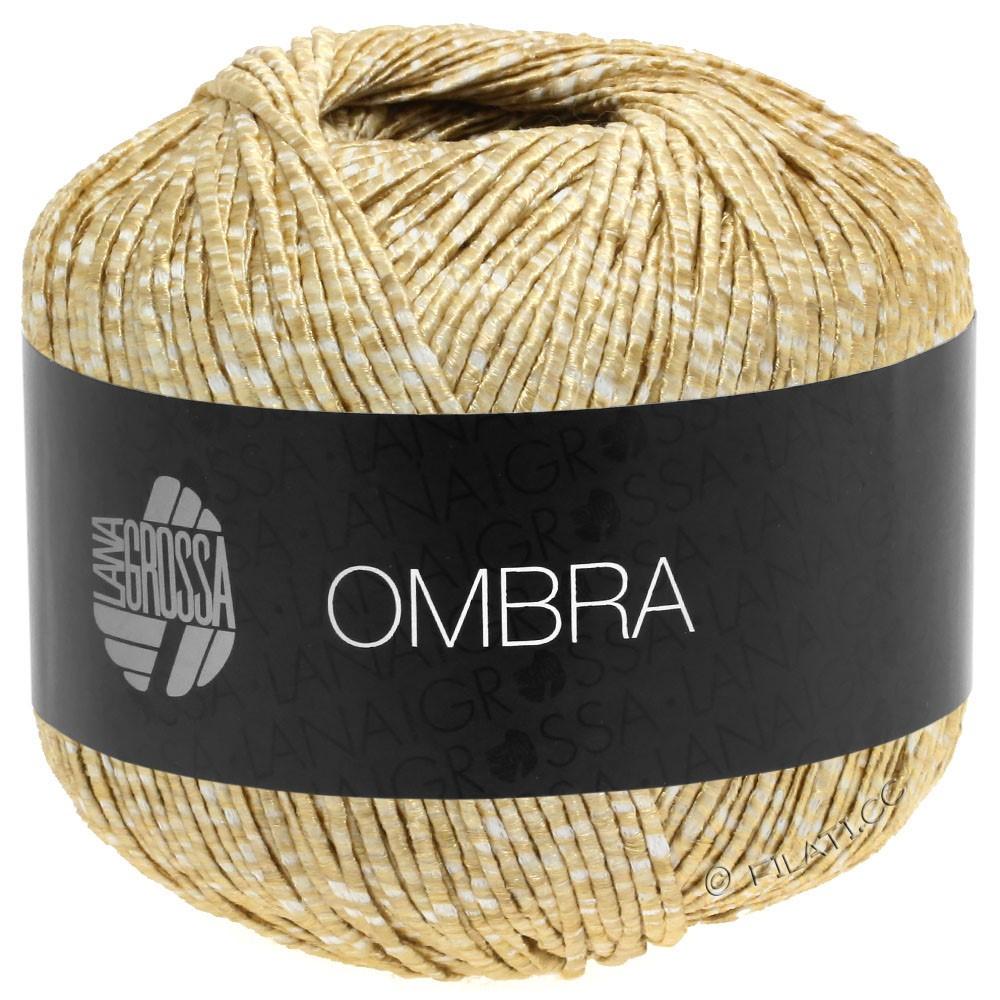Lana Grossa OMBRA   01-белый/бежевый