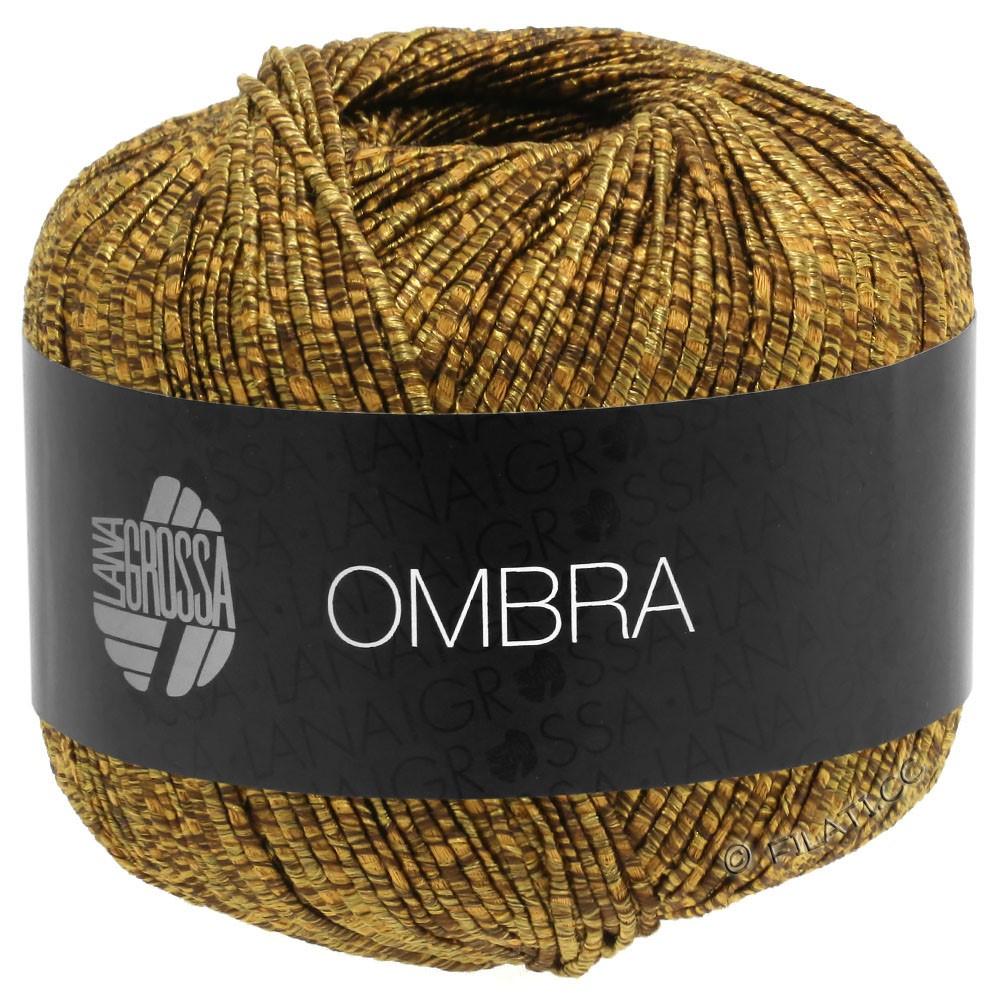 Lana Grossa OMBRA   02-легко коричневый/коричневый