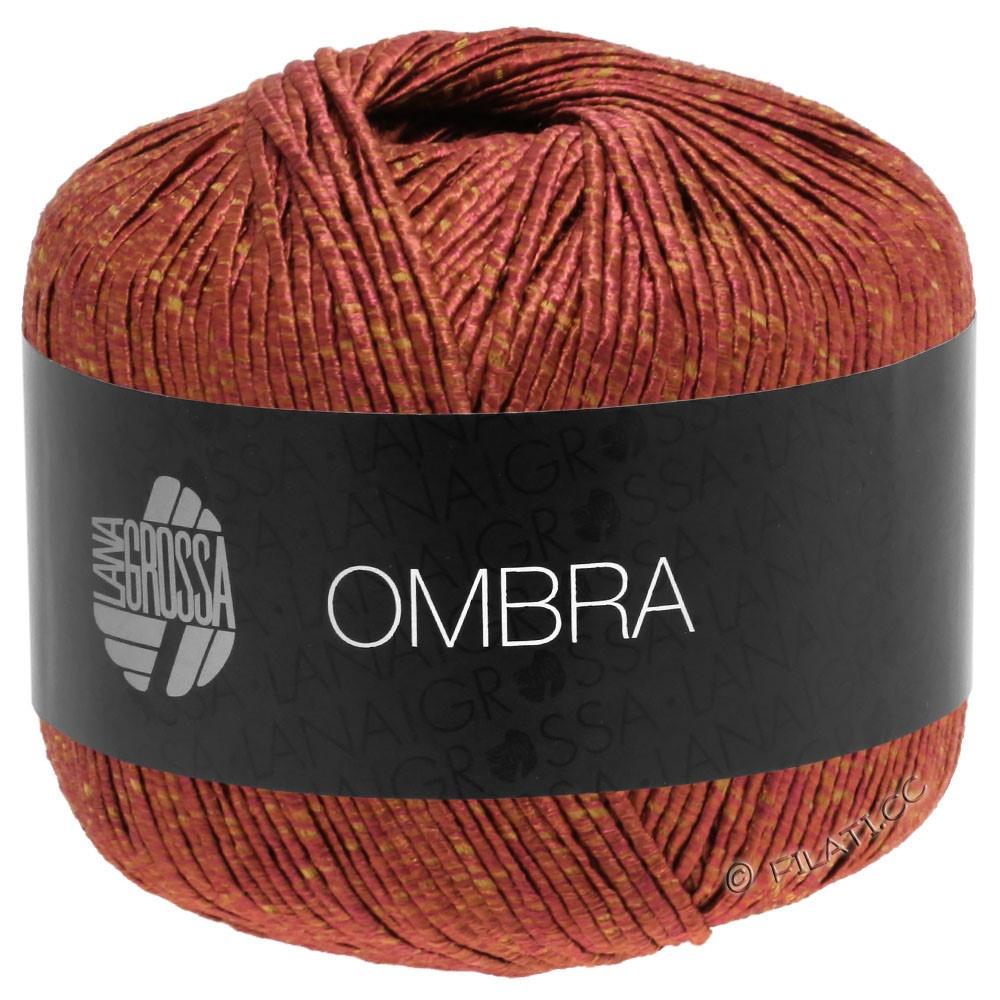 Lana Grossa OMBRA   03-терракотовый/легко коричневый