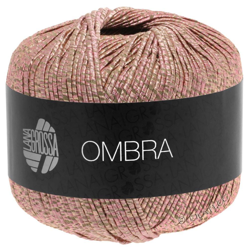 Lana Grossa OMBRA   04-розовый/бежевый