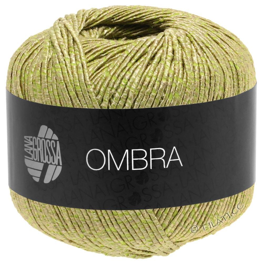 Lana Grossa OMBRA   07-бежевый/фисташковый